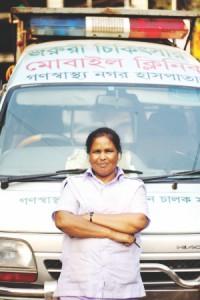 Woman behind the wheel