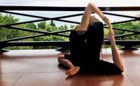 Iyengar's take on yoga asanas
