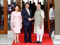 China leader Xi begins India visit