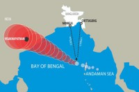 Hudhud turns into very severe cyclonic storm