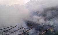 Fire guts 160 shanties in Mirpur