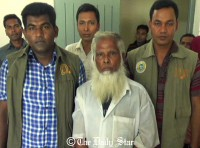 War crimes suspect held in Barisal