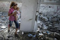 Israel destroys 2 Gaza high-rises in escalation