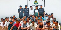 60 rescued while being trafficked to Malaysia, 4 held