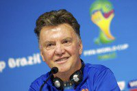 It might come down to luck: Van Gaal