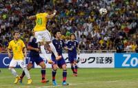 Neymar quadruple thrashes Japan
