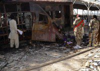 Blast kills 23 in Pakistan
