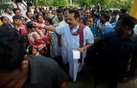 Sri Lanka leader faces crucial poll