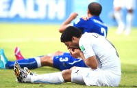 Fifa probes Luis Suarez 'biting' incident