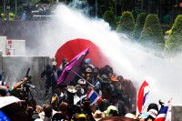 Cops fire tear gas at Thai protesters