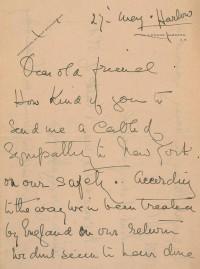 Letter of Titanic survivor up for auction