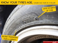How to avoid buying tyres too old